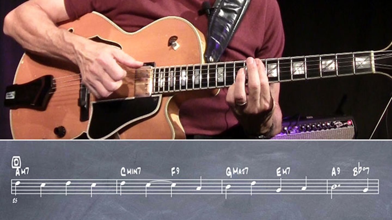 Frank Potenza Chord Melody Guitar Lesson 2 Jazz Guitar Masterclass